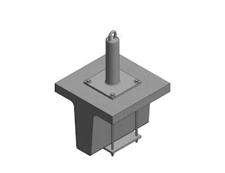 Concrete-Joist-Wrap-Roof-Anchor