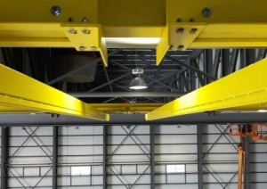 Modular Rigid Track Fall Protection System