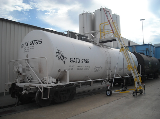 Portable Ladder System For Railcar Application