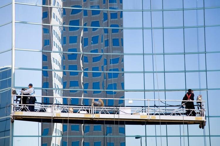 suspended access facade maintenance