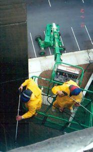 window washing aerial lifr