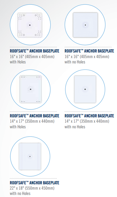 RoofSafe Anchor Baseplates