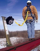 construction site fall protection