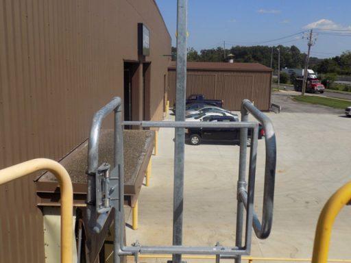 Fixed Through Ladder OSHA Compliant