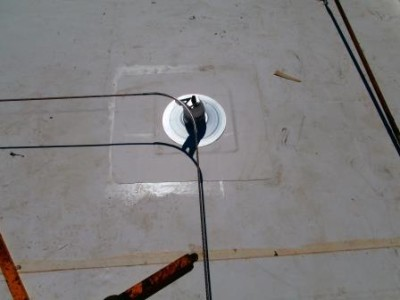 engineered HLL system with tip over posts
