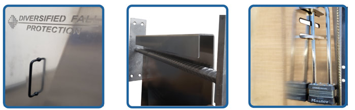 EZ Ladder Guard Features