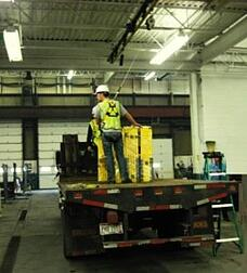 modular overhead track system for fall arrest