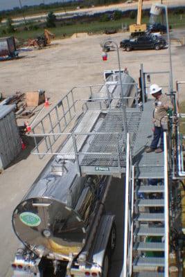 bulk loading rack