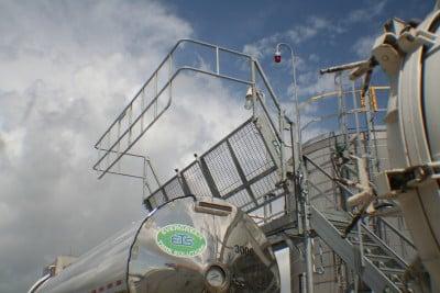 single spot bulk loading rack