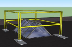 skylight guardrail