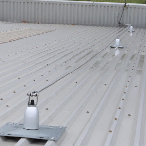 tip over anchors hll standing seam roof