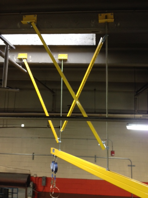 uni-track-fall-protection-system